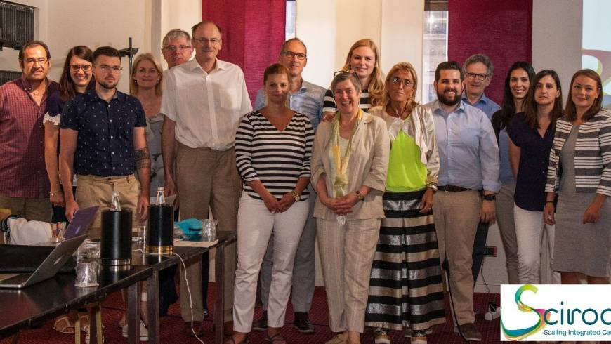 SCIROCCO Second Project Assembly Meeting at ARES Puglia, Italy