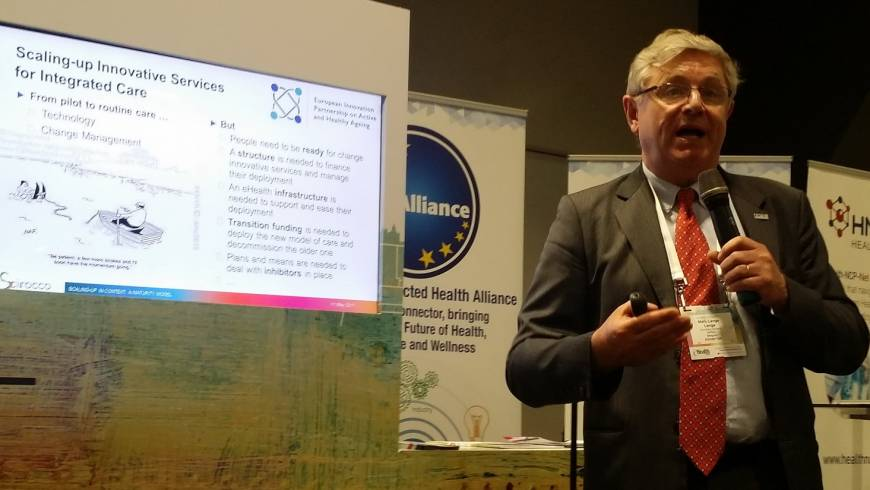 SCIROCCO raises awareness on progress at eHealth Week 2017, Malta